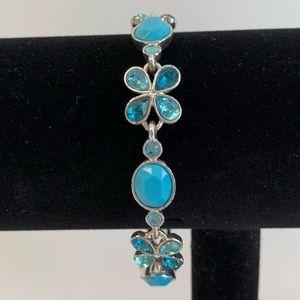 Napier Blue & Silver Tone Bracelet